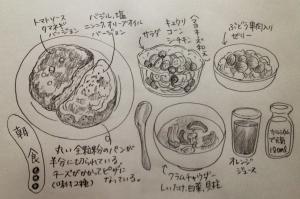 3/6 朝食