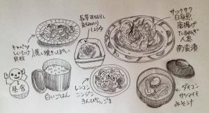 3/7 昼食