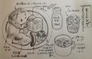 3/9 朝食