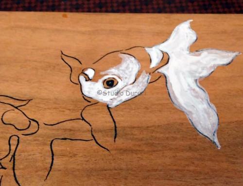 日本画家 寺島節朗先生のぬりえワークショップに参加しました。